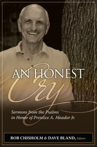 An Honest Cry frontcover 112409